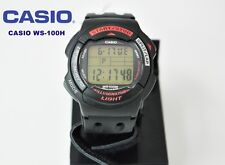 CASIO NEW COLLECTION WS-1100H BISEL ROJO