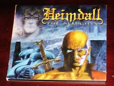 Heimdall: The Almighty CD 2002 Scarlet Records Italy SC 050-2 Digipak