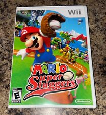 Mario Super Sluggers Wii 1st Print Brand New Factory Sealed [Nintendo Wii]