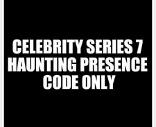 Celebrity Series 7 Haunting Presence CODE ONLY