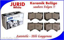 JURID White Keramik Bremsbeläge vorne TOYOTA Land Cruiser ab 2008, Tundra Pickup