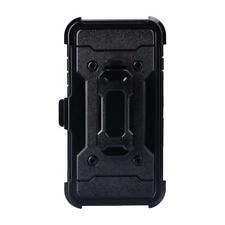 Transformer Combo Holster Cover Case for iPhone 6 Plus/7 Plus/8 Plus, BK