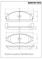 Disc Brake Pad Set-RWD Front Dash 4 Brake MD91
