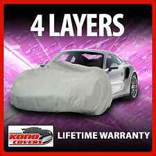 4 Layer Car Cover - Soft Breathable Dust Proof Sun UV Water Indoor Outdoor 3301