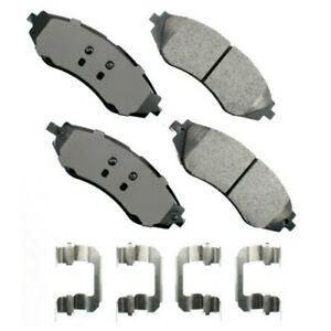 Frt Ceramic Brake Pads  Akebono  ACT1035