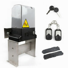 New 3300Lbs Sliding Gate Opener Electric Operator W/ Remote Control Usa Stock