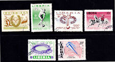 Liberia 1956 Melbourne Olympic Games Complete Set - MLH - CTO