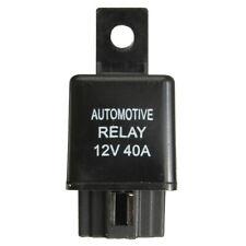 12V 40A 40 AMP Car Auto Automotive Van Boat Bike 4 Pin SPST Alarm Relay Useful