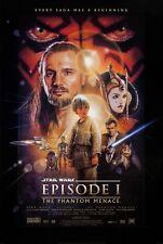 STAR WARS EPISODE 1: THE PHANTOM MENACE  -  ORIGINAL MOVIE POSTER  -  ROLLED