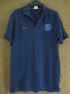 Polo Nike PSG Paris Saint Germain maillot vintage Coton Jersey - S