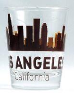 LOS ANGELES CALIFORNIA SUNSET SKYLINE CLASSIC DESIGN SHOT GLASS SHOTGLASS