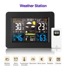 Digital Wireless Weather Station Daily Alarm Weather Forecast Measurer Backlight
