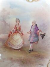"Pair Beautiful L. Chezal Gilt Plates, 13"", c. 19th Century *REDUCED*"
