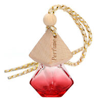 Red Printed Hanging Perfume Car Bottle Air Freshener Diffuser Fragrance