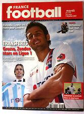 France Football du 10/07/2007; Transferts Grosso, Zenden/ Copa America/ Malouda