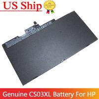 Genuine HP Laptop Battery CS03XL for Elitebook 840 G3 G4 854108-850 800513-001