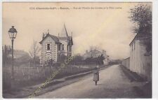 RARE CPA 17200 ROYAN rue du Moulin des Gardes & Villa Louise animée  Edit BRAUN