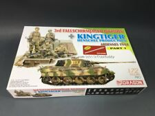 DRAGON 7361 1/72 3rd Fallschirmjager Division + Kingtiger Henschel Production (A