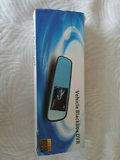 Vehicle Blackbox DVR Full HD 1080p Rear View Mirror with rear camera