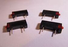 50 Stück - MENTOR 2mm LED rot red 15V - anreihbar - 2009.8221 50pcs
