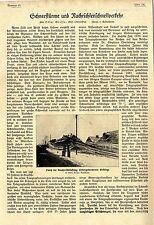 Tormentas de nieve y mensaje de transporte rápido V. oberpostrat o. Grosse 1918 * ww1
