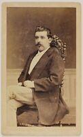 P.Spinotti Dorati Roubaix Francia Foto CDV PL52L5n15 Vintage Albumina