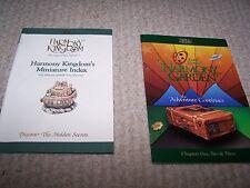 Harmony Kingdom- Booklets-Illustrated.