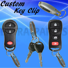 New Keyless Entry Remote Fob Dongle Key Chain Clip Accessory Loop Car SUV