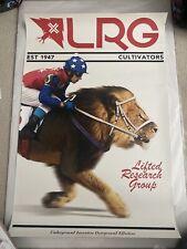 Lrg Lifted Research Group Polo Jockey Rare Promo Poster - Free Shipping Usa
