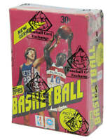 1981-82 Topps Basketball Unopened Wax Box BBCE Sealed Wrapped - 36 Packs (A)