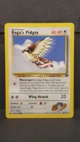 Koga's Pidgey 49 Gym Challenge Uncommon Pokemon Card Near Mint
