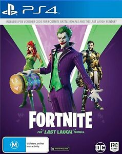 Fortnite: The Last Laugh Bundle PS4 Playstation 4 Brand New