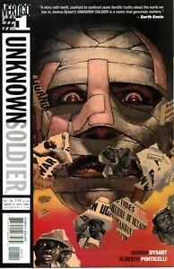 "Vertigo Comics ""Unknown Soldier"" Complete Series Issues #1-12"