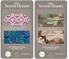 #8025- WELLSPRING MINI SCREEN CLEANERS, HIS & HERS 4 SET, CELL PHONES & TABLETS