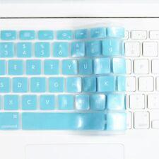 """METALLIC BLUE Keyboard Cover Skin for Macbook White 13"""""""