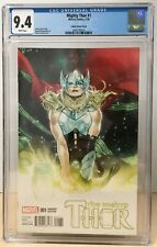 Mighty Thor #1 (2016) CGC 9.4 Coipel 1:25 Variant Jane Foster Thor NM