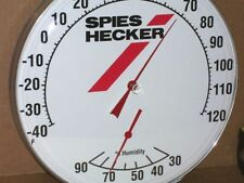 Paint Booth / Auto Repair Shop - HUMIDITY & THERMOMETER COMBO - Spies Hecker WOW