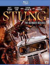 Stung (Blu-ray Disc, 2015), DVD NOT BLURAY!, Horror/Comedy, VERY GOOD!!!