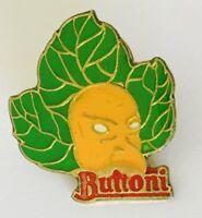 Mask Vegetable Buitoni Advertising Pin Badge Brooch Vintage (C7)