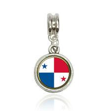 Flag of Panama Euro European Italian Style Bracelet Bead Charm