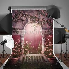 Flower Wedding Background Photo Studio Romantic Photography Backdrop Props 5x7FT