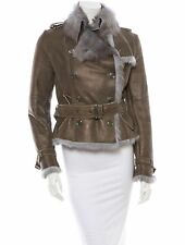 SPECTACULAR $4K NWT SOLD OUT BURBERRY LONDON SUEDE SHEARLING JACKET