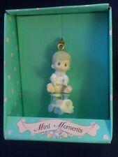 New Enesco Precious Mini Moments Christmas Express Christmas Ornament Cute!