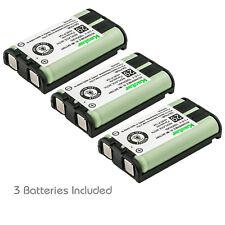 Kastar 3 Pcs 1000mAh Cordless Phone Battery For Panasonic HHR-P104 Type 29 23968