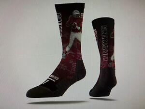 Washington Redskins NFL Mens' Dwayne Haskins Strideline Player Socks (M/L) - NWT