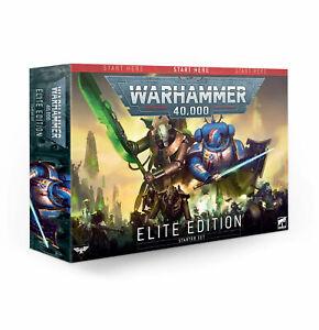 WARHAMMER 40K Elite Edition Set (English) NEW