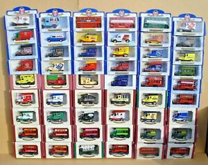 LIMITED EDITION OXFORD DIECAST MODELS - ALL BOXED - CHOOSE FROM LIST - LOT 9
