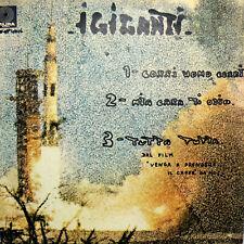 "CORRI UOMO CORRI ( DAVID BOWIE ) Italian cover Space Oddity 7"" EP '70 I GIGANTI"