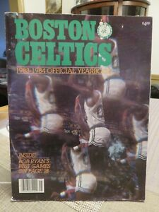BOSTON CELTICS 1983-1984 OFFICIAL YEARBOOK