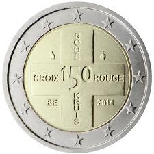 Belgio 2014 - 2 Euro Commemorativa - 150 anni del Belgio Croce rossa (UNC)